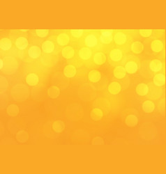 abstract yellow bokeh light luxury background vector image vector image