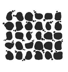 speech bubbles collection vector image