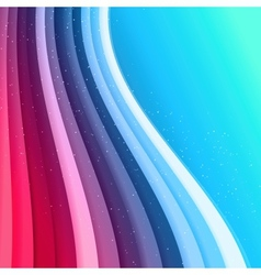 Abstract waved lines background vector