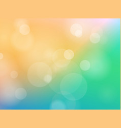 abstrct color blured background vector image