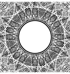 art lacy mandala ethnic decorative element hand vector image