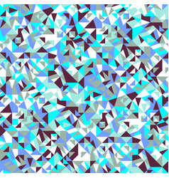 Colorful geometrical random triangle pattern vector