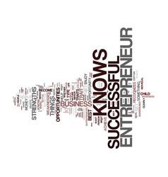 Entrepreneur i text background word cloud concept vector