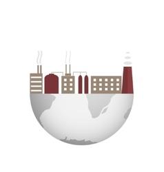 Environmental pollution vector image
