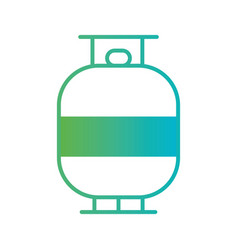 Line water tank container reserve vector