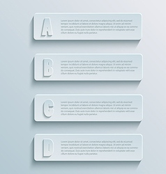 paper infographic1 vector image