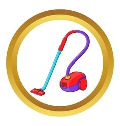 Vacuum cleaner icon vector