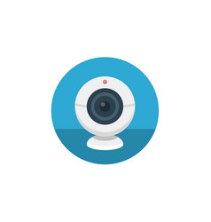 webcam icon sign symbol vector image