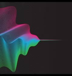abstract digital vector image vector image