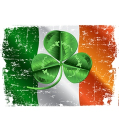 Day Three Leafed Clover vector image
