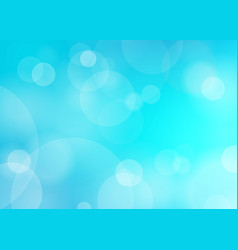 Abstract blue blured background vector