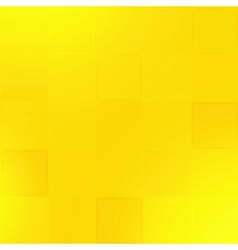 Abstract yellow geometric paper background vector image