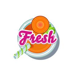 carrot fresh vector image