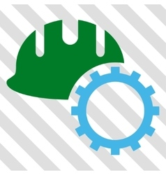 Development Hardhat Icon vector