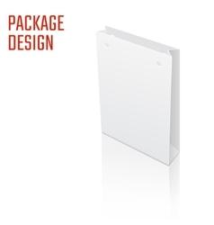Gift craft Box 1 vector image