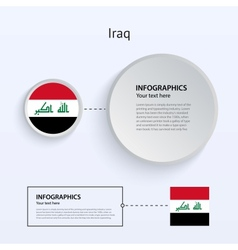 Iraq Country Set of Banners vector