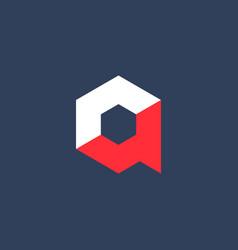 Letter a technology logo icon design template vector