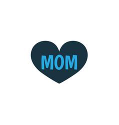 mom colorful icon symbol premium quality isolated vector image