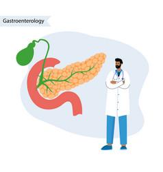 Pancreas logo concept vector
