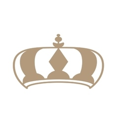 royalty crown icon vector image
