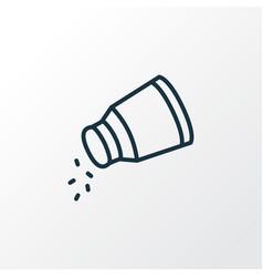Salt icon line symbol premium quality isolated vector