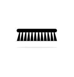 scrub brush icon concept for design vector image
