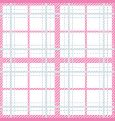 seamless pattern with checkered tablecloth vector image