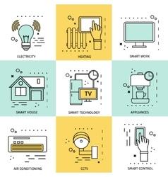 Smart House Concept vector