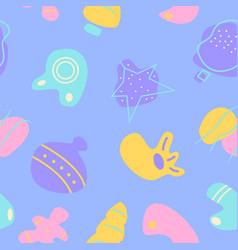 winter season holiday decor abstract seamless vector image