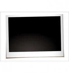 landscape instant photo vector image vector image