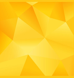 modern gradient yellow polygon background picture vector image vector image