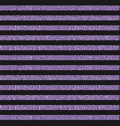 Parallel horizontal lines banner of purple sequin vector