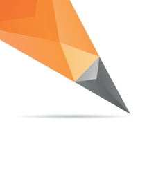 Pencil abstract isolated vector