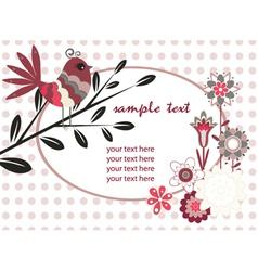Spring floral vector