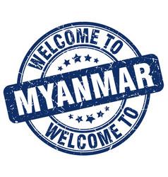 Welcome to myanmar vector
