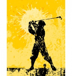 golf2 vector image vector image
