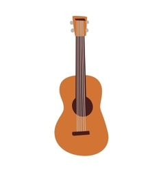 guitar isolated vector image