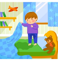 Bed wetting vector