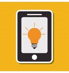 Big idea and light bulb icon design vector