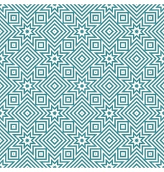 Blue and white geometric seamless patterns vector