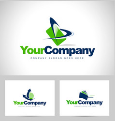 business logos vector image