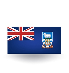 Falkland Islands Flag vector