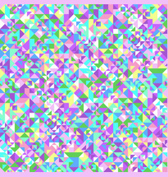 Geometrical seamless colorful triangle tile vector