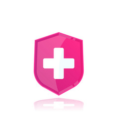 Health insurance medical logo vector
