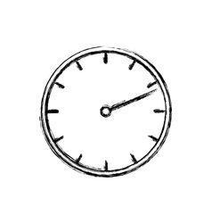 Isolated clock design vector