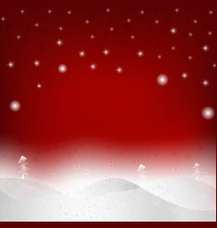 modern christmas background with snow picture vector image