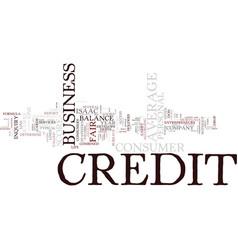 entrepreneurs don t have average credit scores vector image vector image