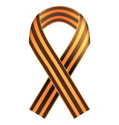 St George ribbon vector image vector image