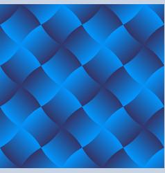 3d curve tile seamless pattern blue 003 vector image