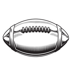 American football design on white background vector